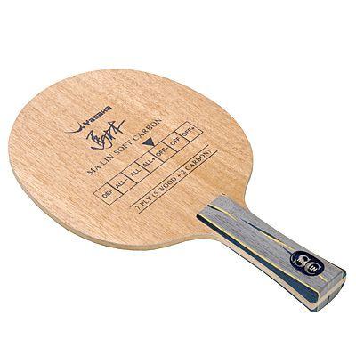 Yasaka Ma Lin Soft Carbon blade rubber table tennis