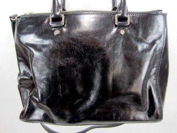 NEW MICHAEL KORS Black LARGE BEDFORD DRESSY TOTE HANDBAG PURSE BAG $